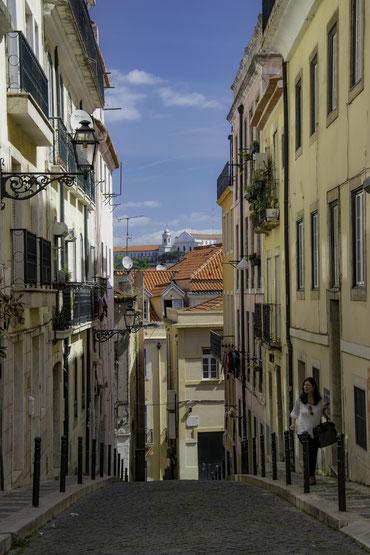 The alleys of Bairro Alto