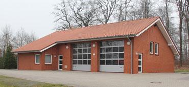 Feuerwehrhaus im Jahr 2012
