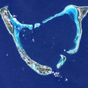 モルディブの「アッドゥ環礁生物圏保存地域」