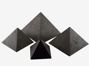 Pyramide de Shungite - lithothérapie - casa bien-etre