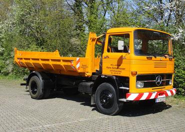 Oldtimer-Containerwagen Baujahr 1975