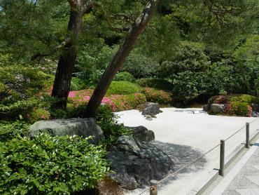 有名な枯山水庭園