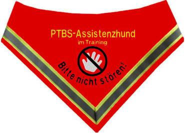 PTBS,PTSD, Halstuch, Assistenzhund, Posttraumatische Belastungsstörung