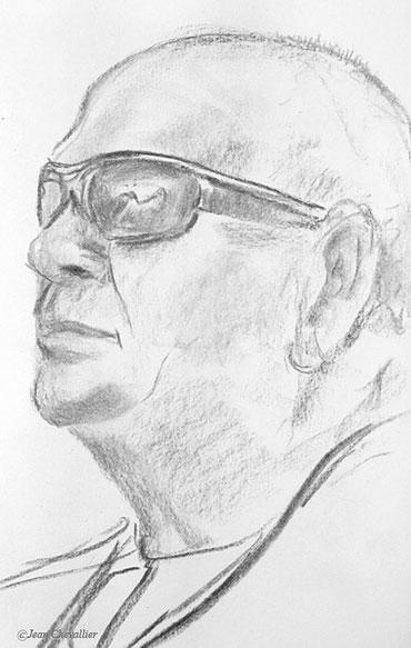 Observateur, portrait. Jean Chevallier