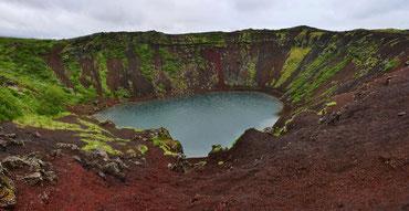 llb pics - islande - kerid - le long barbare photographie