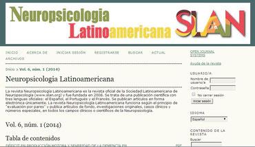 Neuropsicología Latinoamericana