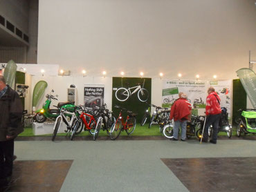 ABF 2012 Hannover eBikes