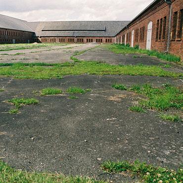 Grasnarben - Fotografien von ehemaligen NS-Lagern in Nordwestdeutschland