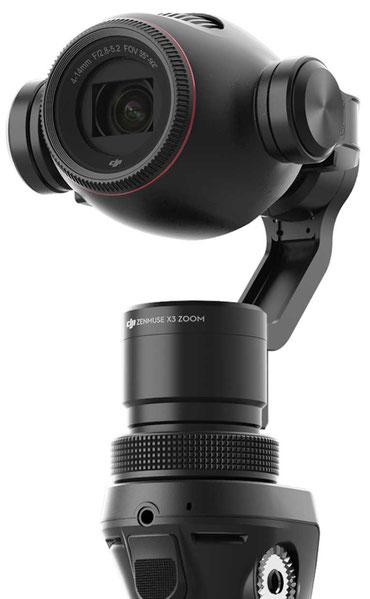 Zoom digital sin pérdidas al grabar con el Osmo+ a 1080 p