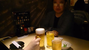 結果はともあれ一日戦い切った後のビールは旨い!