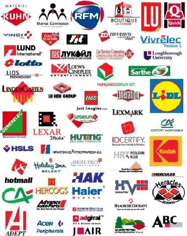 Logos d'institutions basés sur le carré - Cliquer pour agrandir