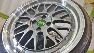 BBS・LMチャンピオンエディションのホイールコーティング ブレーキダスト対策