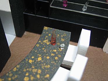 模型のカウンター部分