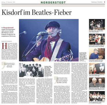 Remember John Lennon, Kisdorf, 13.12.2014