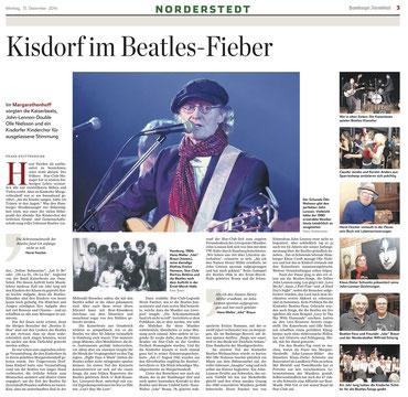 Remember John Lennon, Kisdorf, 13.12.2014
