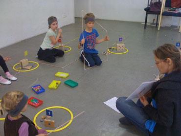 Arbeiten mit dem Zahlenland mit Irina Kuhn