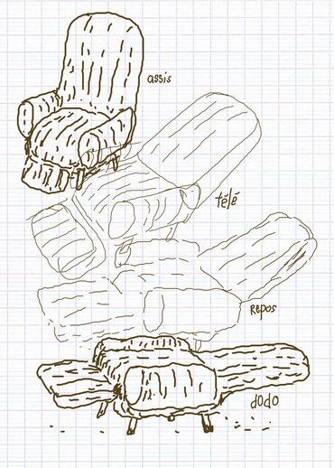 dessin de Valparess pour la création de la lecture musicale à Nîmes le 11.11.11.