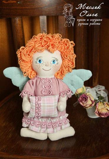кукла ангел. Игрушки ручной работы Маслик Ольги