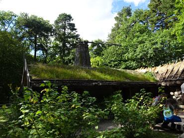 スカンセン公園の中にあったスウェーデンの昔の家