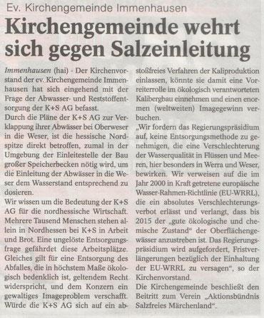 HOG-aktuell, Juni 2014