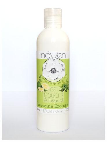 gel douche citron verveine exotique naturel artisanal cosmétique