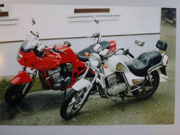Suzuki Bandit 600 und Hyosung 125 08/1997