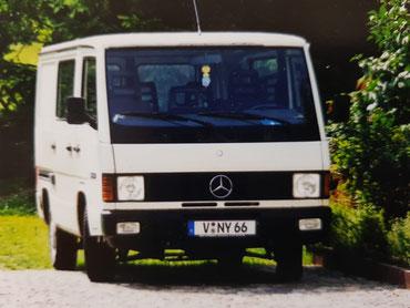 MB 100 D 09/1998 - das Fahrzeug für Transportzwecke