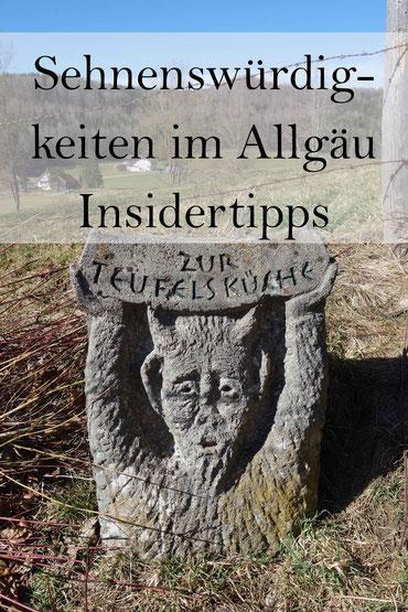 Insidertipps: Sehenswürdigkeiten im Allgäu - Teufelsküche Obergünzburg und geologische Orgeln