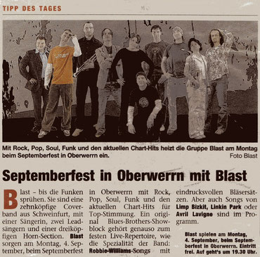 31.08.2006 Boulevard Schweinfurt