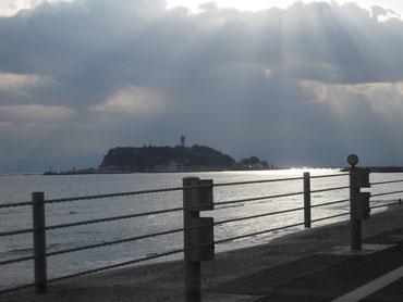 Shonan Sea Coast in Kanagawa Pref., Japan