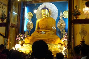 Shaka Nyorai statue in Bodh Gaya