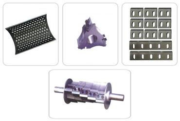 Granulator Blades & Screens