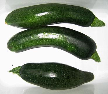 . . . die eigenen Zucchini