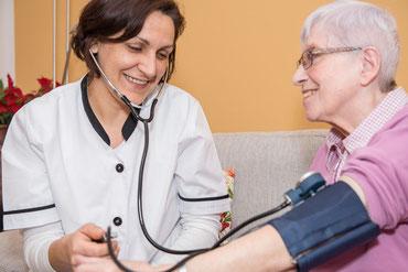 Blutdruckmessung, Blutzuckermessung