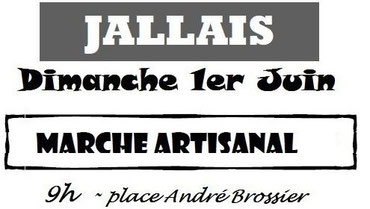 marché artisanal Jallais Bijoux des Lys