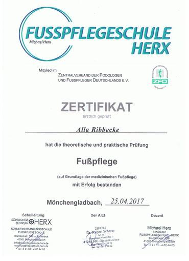 Fußpflege Erkelenz - Mobile Fußpflege Ribbecke - 3