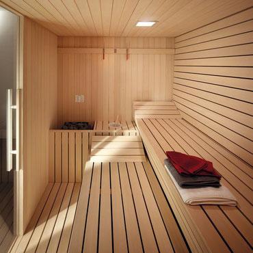 installation sauna Maroc