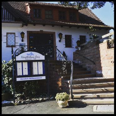 Hier lebte und malte Karl Lenz von 1925-1948