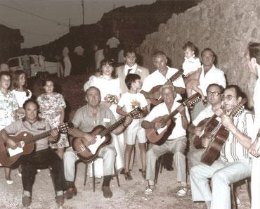 Rondalla de Torreagüera, año 1970
