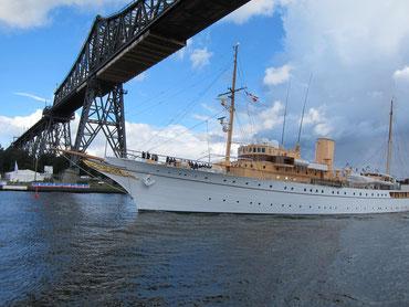 Die Dannebrog, Yacht der Dänischen Königin