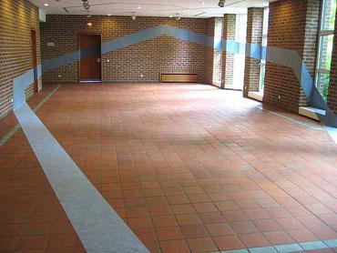 «geradewegs», 2005, Raumzeichnung Rathaus Pulheim