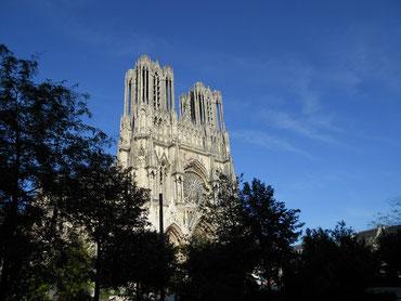 cathédrale de Reims - gite vignoble Champagne