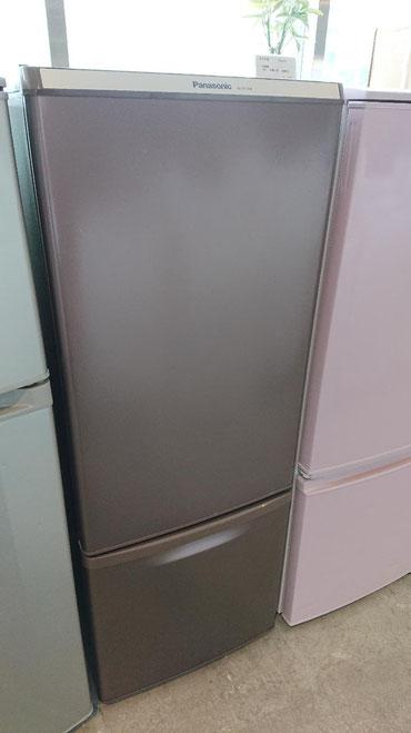 ブラウンのオシャレリサイクル冷蔵庫