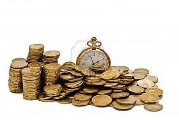 時間はお金と同じであることを説明した画像