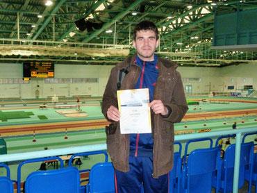 Florian Hoffmann - Vizelandesmeister über 3.000m in der Halle