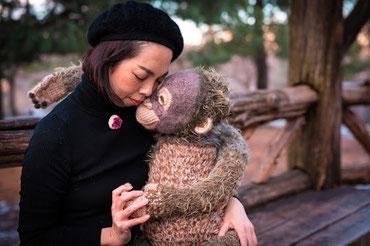 Orang Fujita AMIGURUMI Orangutan