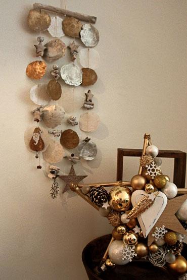 Weihnachtsdeko zum Hängen