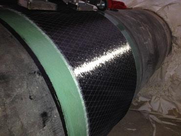 Fertige PCW Carbon Bandage