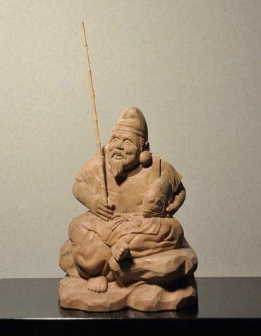 木彫り 恵比寿