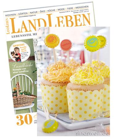 Landleben, Dekoidee, Recycling, Recyclingidee, Muffin, Cupcake